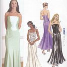 Kwik Sew Sewing Pattern 3060 Misses Sizes XS-XL (8-22) Formal Gored Long Skirts Bustier Tops
