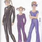 Kwik Sew Sewing Pattern 3103 Girls Size 4-7 Unitard Long Leg Sleeve Neckline Options