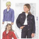 Kwik Sew Sewing Pattern 3136 K3136 Boys and Girls Sizes XS-XL (4-14) Blue Jean Style Jacket