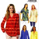 Butterick Sewing Pattern 5826 Misses Size 8-16 Easy Pullover Top Tunic