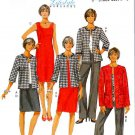 Butterick Sewing Pattern 5719 Misses Size 8-16 Easy Wardrobe Dress Jacket Pants