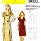 Butterick Sewing Pattern 5430 Misses Size 3-16 Easy Formal Evening Long Short Dress