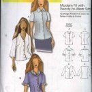 Butterick Sewing Pattern 5300 Misses Size 3-16 Easy Blouse Top Shirt Connie Crawford
