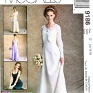 McCall's Sewing Pattern 9188 Misses Size 16-20 Alicyn Bride Bridesmaid Dress Bolero