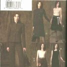 Vogue Sewing Pattern 7947 Misses Size  6-8-10 Easy Wardrobe Jacket Top Dress Skirt Pants