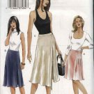 Vogue Sewing Pattern 7830 Misses Size 6-8-10 Easy Fitted A-Line Skirt Side Pleats Slit