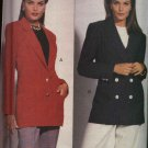 Vogue Sewing Pattern 8518 Misses Size 18-20-22 Lined Loose-Fitting Long Sleeve Jacket