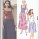 Kwik Sew Sewing Pattern 3220 Misses Sizes XS-XL (approx. 8-22) Fitted Tops Skirts