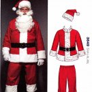 "Kwik Sew Sewing Pattern 3649 Unisex size S-XXL (chest 36-48"") Santa Suit Costume"