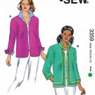 Kwik Sew Sewing Pattern 3359 Misses Sizes XS-XL (approx. 8-22) Jackets