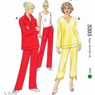 Kwik Sew Sewing Pattern 3393 Misses Size XS-XL (approx. 8-22) Knit Casual Pants Tops
