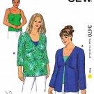 Kwik Sew Sewing Pattern 3470 Women's Plus Size 1X-4X (approx. 22W-32W) Tunics Camisole Twin Set