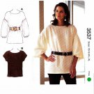 Kwik Sew Sewing Pattern 3537 Misses Sizes XS-XL (approx. 8-22) Pullover Top