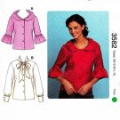 Kwik Sew Sewing Pattern 3582 Misses Sizes XS-XL (approx. 8-22) Button Front Blouse