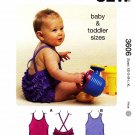 Kwik Sew Sewing Pattern 3606 Baby Toddler Size 3-36 months (XS-XL) Baby & Toddler Swimsuits