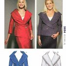 Kwik Sew Sewing Pattern 3654 K3654 Misses size XS-XL (approx. 8-22) Fitted Button Front Jackets