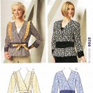 Kwik Sew Sewing Pattern 3706 Misses Sizes XS-XL (approx 6-22) Front Closure Peplum Jackets