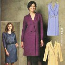 Kwik Sew Sewing Pattern 3719 Misses Sizes XS-XL (approx 8-22) Double Breasted Dress