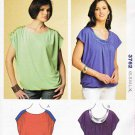 Kwik Sew Sewing Pattern 3762 Misses Sizes XS-XL (approx 8-22) Kwik and Easy Knit Tops
