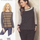 Vogue Sewing Pattern 1363 V1363 Misses'/Women's Plus Size 10-32W Easy Betzina Pullover Knit Top