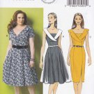 Butterick Sewing Pattern 5930 Womens Plus Size 18W-24W Easy Vintage Style Dress Sleeve Skirt Options