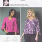 Butterick Sewing Pattern 5967 Womens Plus Size 18W-44W Easy Connie Crawford Button Front Top Blouse