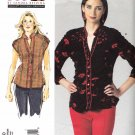 Vogue Sewing Pattern 1260 Misses'/Women's Plus Size 10-32W Sandra Betzina Button Front Blouses