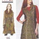 Vogue Sewing Pattern 1318 Misses'/Women's Plus Size 10-32W Sandra Betzina Detachable Collar Vest