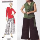 Vogue Sewing Pattern 1334 Misses'/Women's Plus Size 10-32W Sandra Betzina Easy Top Pants