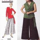 Vogue Sewing Pattern 1334 Misses'/Women's Plus Size 10-32W Sandra Betzina Easy Top Pants