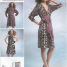Vogue Sewing Pattern 1301 Misses' 4-14 Koos Van Den Akker Color Blocked Dress