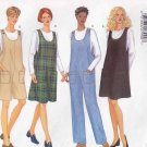 Butterick Sewing Pattern 5642 Maternity Misses Size 6-10 Easy Classic Jumper Jumpsuit