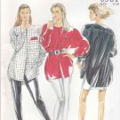 New Look Sewing Patterns 6581 Misses Sizes 8-20 Button Front Big Shirts