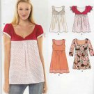 New Look Sewing Pattern 6784 Misses Sizes 6-16 Easy Pullover Loose Front Top Tunic