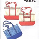 Kwik Sew Sewing Pattern XXX Kenmore Tote Bag Exclusive