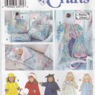 "Simplicity Sewing Pattern 8962 USED Doll Clothes Acessories 18"" Dolls"