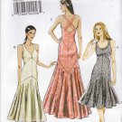 Vogue Sewing Pattern 8814 V8814 Misses Size 14-22 Lined Long Short Dress Custom Cup