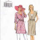 Vogue Sewing Pattern 8985 Misses Size 16-26 Easy Pullover Dress Tunic Pants Sleeve Options