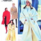 Style Sewing Pattern 2340 Misses Sizes 6-24 Wrap Front Oversized Swing Coat Length Options