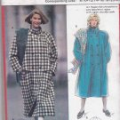 Burda Sewing Pattern 5526 Misses Sizes 8/10-20/22 Double Breasted Raglan Sleeve Coat