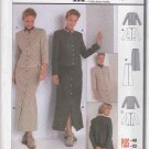 Burda Sewing Pattern 8831 Misses Sizes 10-22 Button Front Jacket Ankle Length Skirt Suit