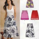 New Look Sewing Pattern 0136 6106 Misses Sizes 10-22 A-Line Skirt 3 Lengths Contrast Hemband