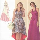 Simplicity Sewing Pattern 1406 Womens Plus Sizes 20W-28W Formal Halter Neck Empire Dress