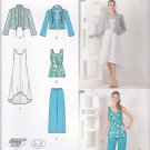 Simplicity Sewing Pattern 1621 Misses Sizes XXS-XXL (4-26) Easy Wardrobe Dress Top Pants Jacket