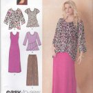Simplicity Sewing Pattern 1622 Womens Plus Sizes 20W-28W Easy Knit Dress Tops Pants Khaliah Ali