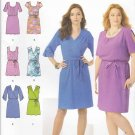 Simplicity Sewing Pattern 1796 Womens Plus Sizes 20W-28W Pullover Dresses Length Sleeve Options