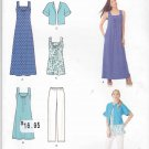 Simplicity Sewing Pattern 1809 Misses Sizes XXS-XXL (4-26) Wardrobe Dress Top Pants Jacket
