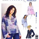 Kwik Sew Sewing Pattern 3162 Misses Sizes XS-XL (approx 6-22) Pullover Top Sleeve Options