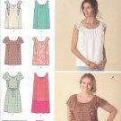 Simplicity Sewing Pattern 1423 Misses Sizes 4-26 Pullover Loose-Fitting Top Mini-Dress