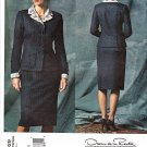 Vogue Sewing Pattern 2829 Misses Size 12-14-16 Oscar de la Renta Suit Skirt Jacket